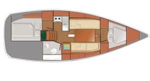 Sun-Odyssey-319---2-cabin-swing-keel